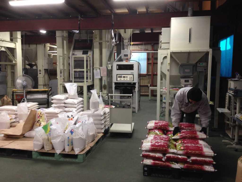 糧とく様精米工場
